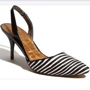 Sam Edelman zebra heels